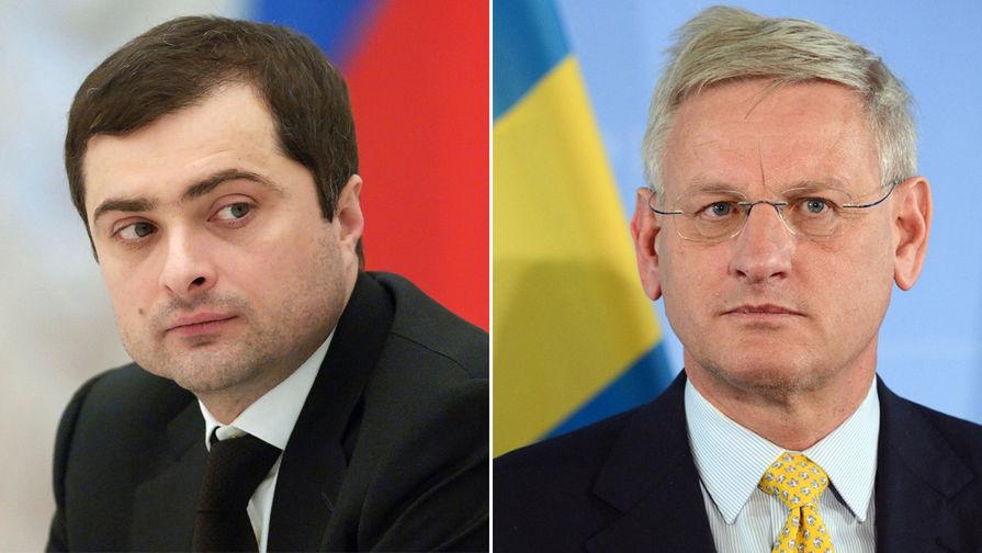 Тайная встреча Бильдта и Суркова: есть ли будущее у минских соглашений и Донбасса