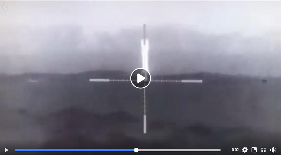 Точно в лицо с 300 метров: снайпер ВСУ эффектно ликвидировал пулеметчика оккупантов - кадры