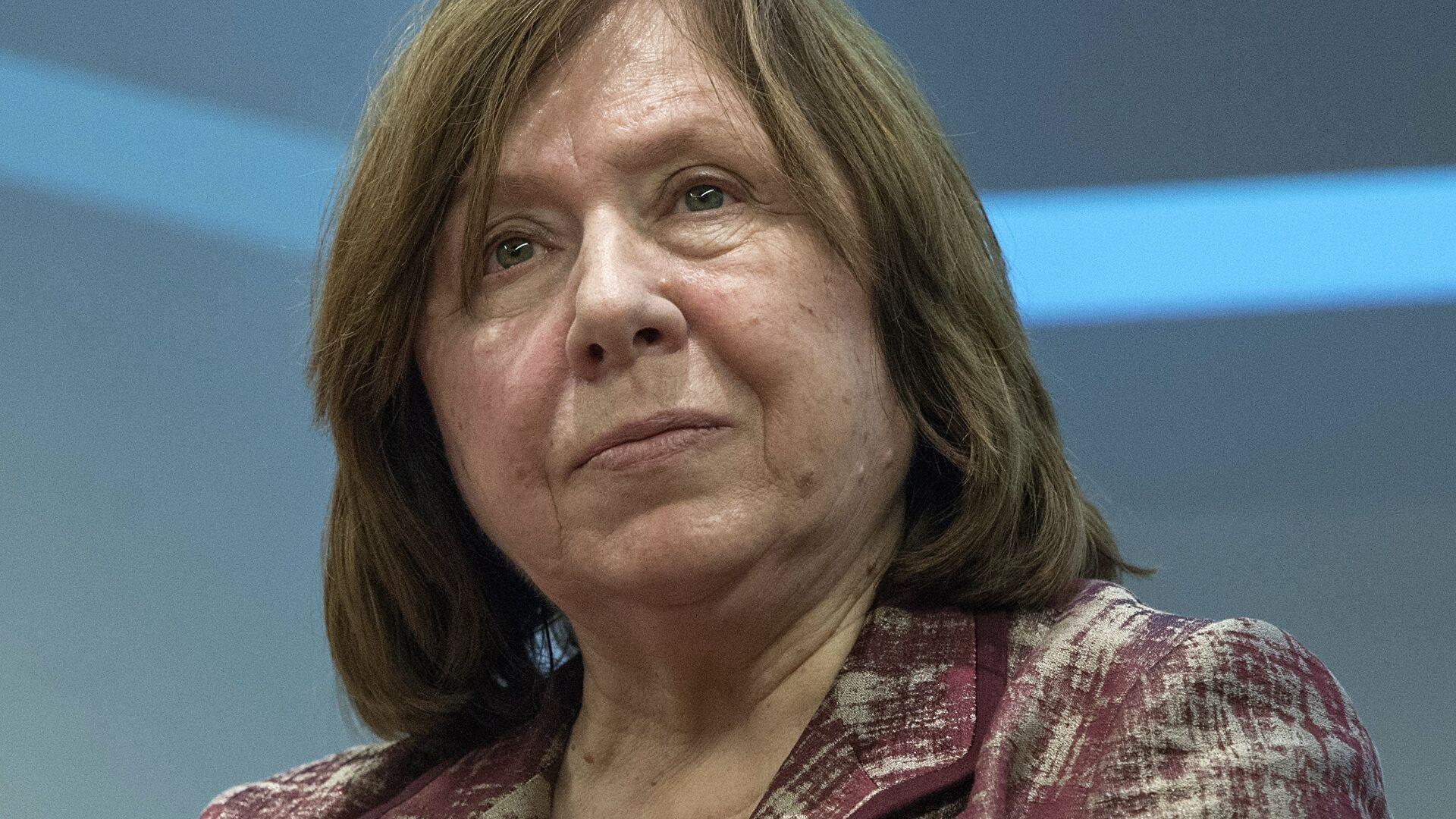 Светлана Алексиевич наотрез отказалась возвращаться в Беларусь