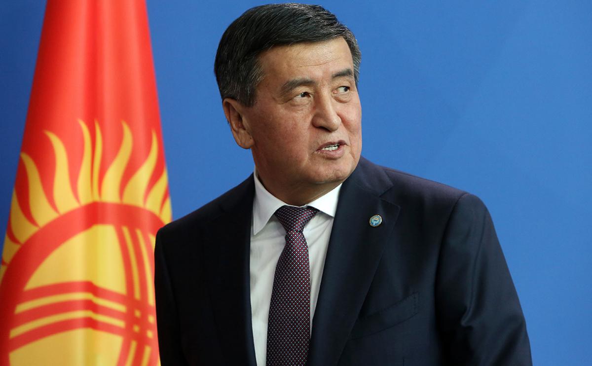 Президент Кыргызстана ушел в отставку на фоне конфликта в стране