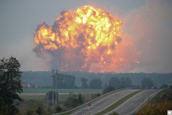 Россия не случайно выбрала место и день проведения диверсии на складах артиллерийских снарядов в Калиновке - Шкиряк