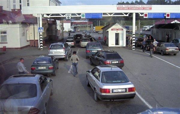 Впечатления о пересечении границы с украиной