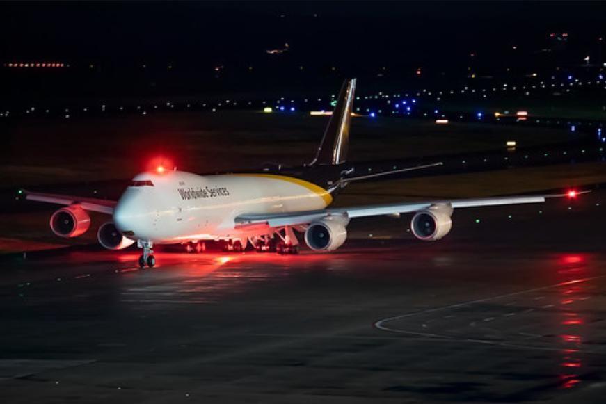 В Украину из Баку ночью прилетел  Boeing 747: Азербайджан отправил в Киев тайный груз на фоне стягивания армии РФ