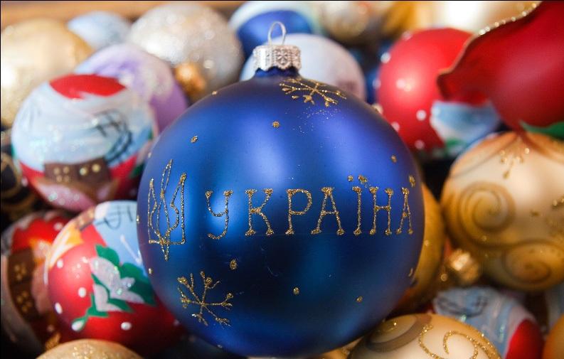 Новогодние картинки на украинском