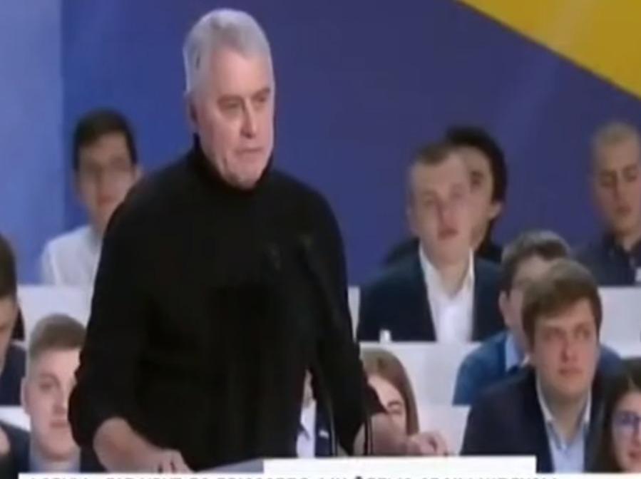 """Подервянский поддерживает президента Порошенко: """"Я тут, чтобы северная лисичка не появилась"""""""