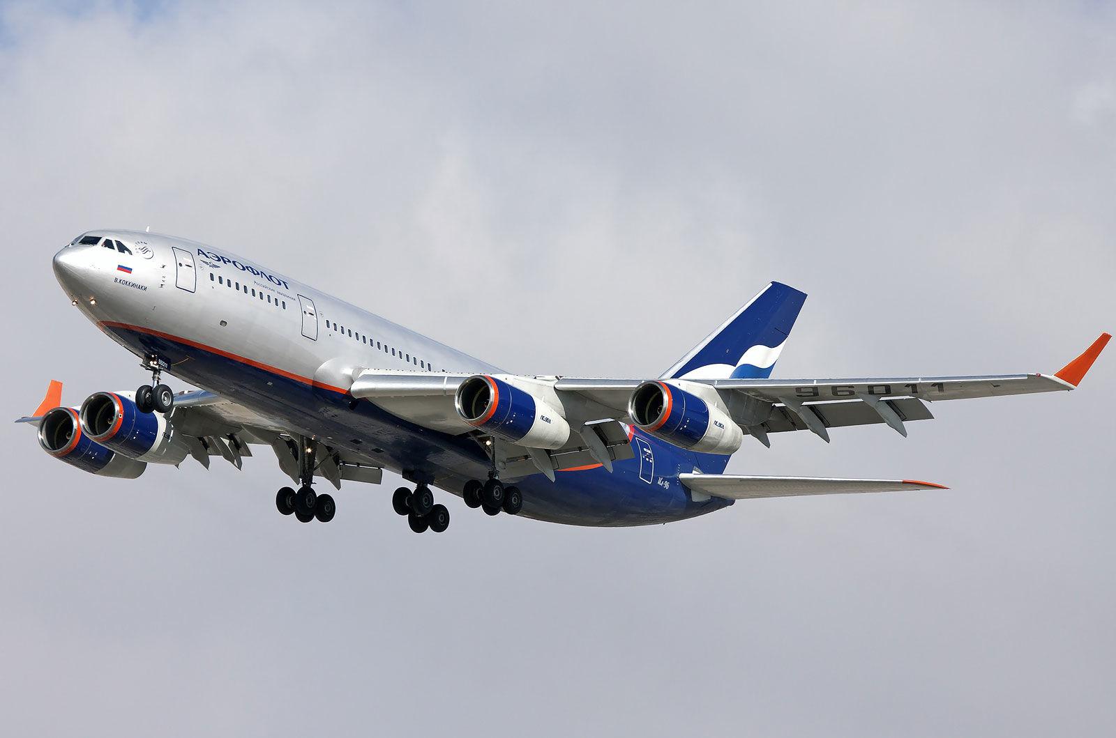Российский Ил-96 вторгся в воздушное пространство Эстонии - реакция Таллина