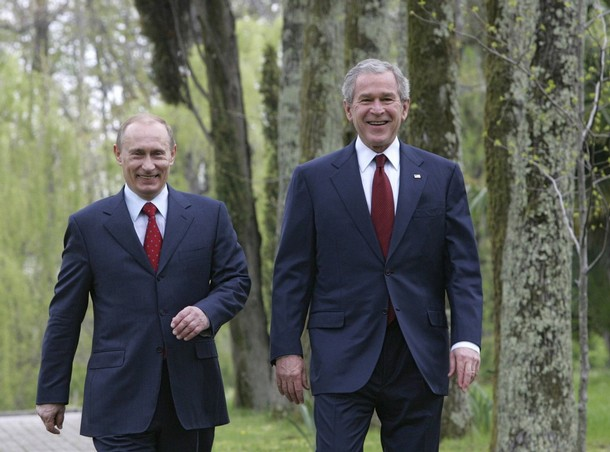 Джордж Буш-младший поделился рецептом победы над Владимиром Путиным