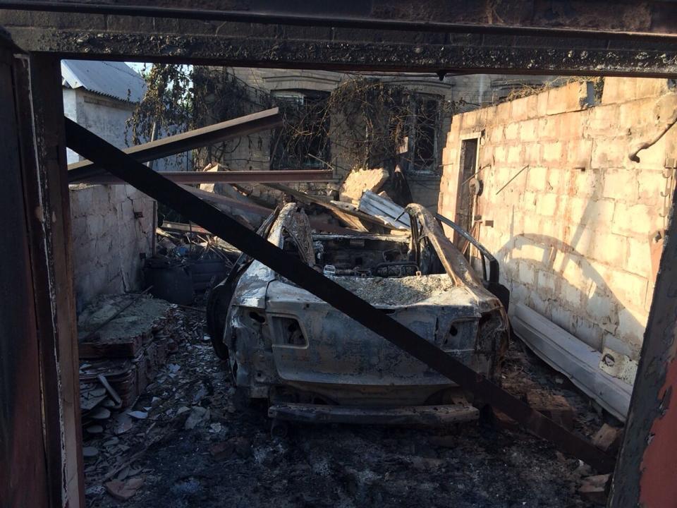 Ситуация в Донецке на 12:00: от артобстрела пострадала центральная часть города