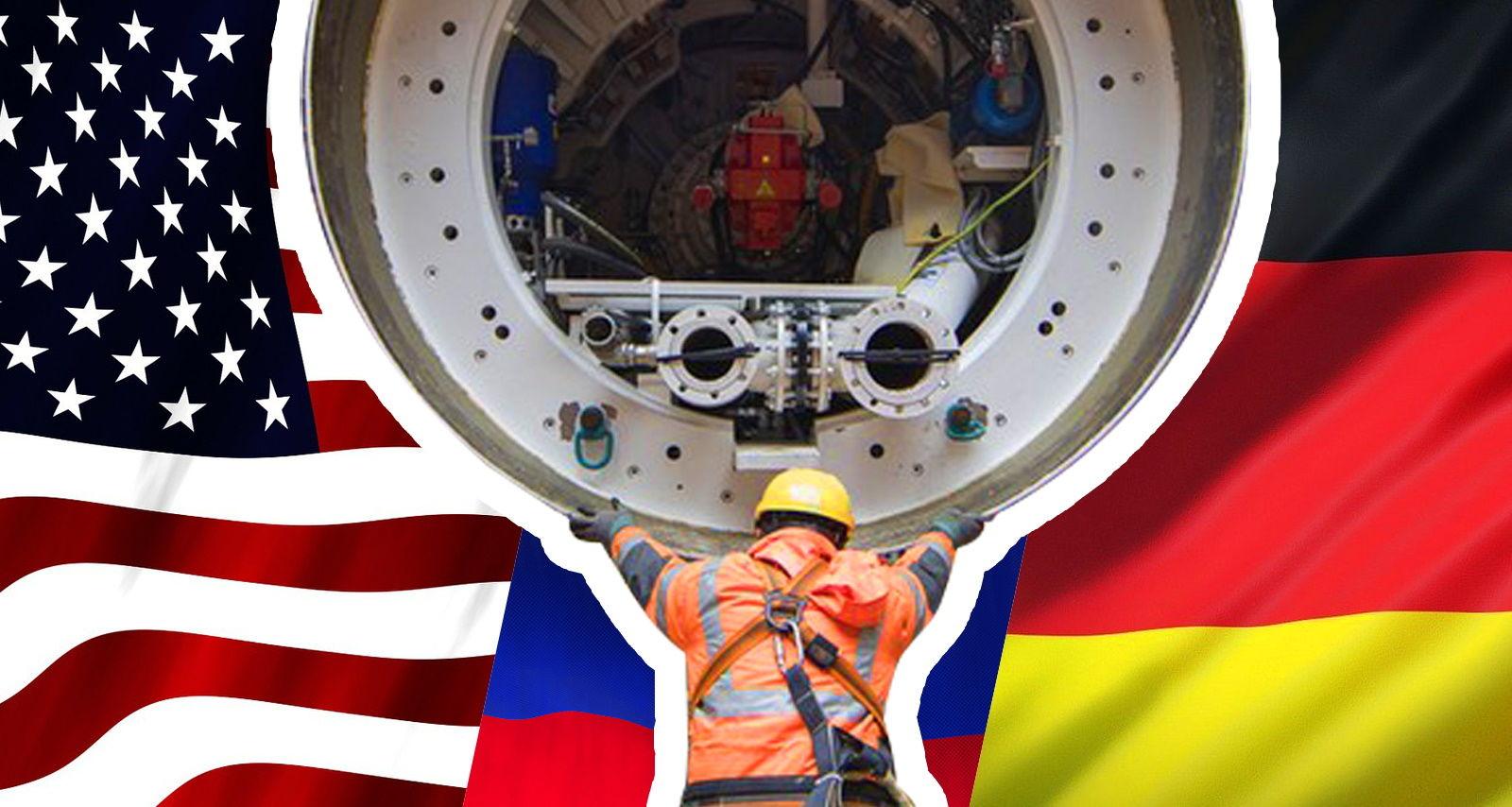 """Bloomberg: """"Вашингтон и Берлин готовят сделку по """"Северному потоку - 2"""", а Киеву будет предложена компенсация"""""""