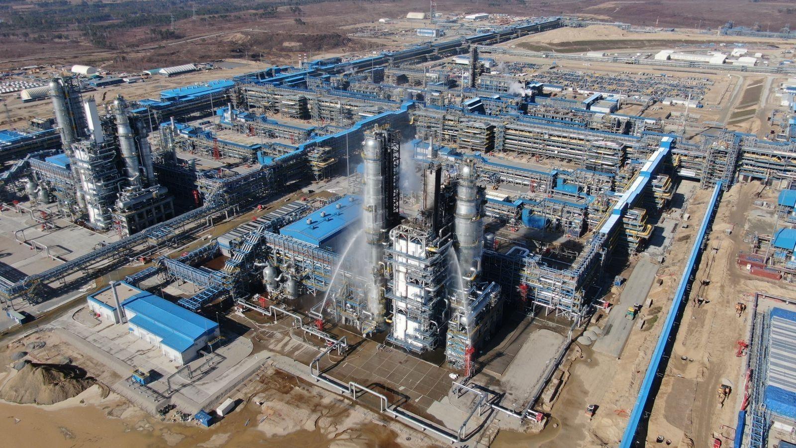 """Пострадает Китай: на Дальнем Востоке горел """"Газпром"""" – огненный столб был виден издалека"""