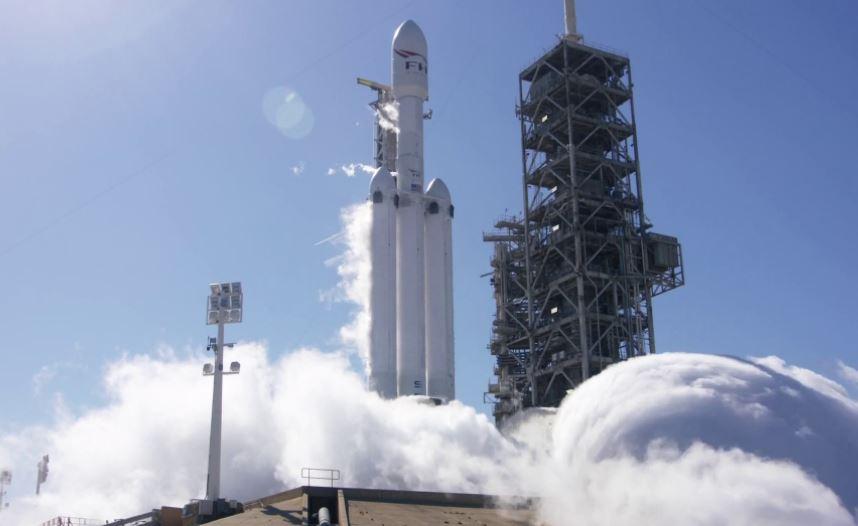 сша, Falcon Heavy, SpaceX, маск, марс, ракета