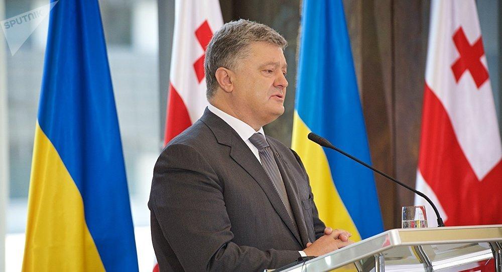 Украину и Грузию свяжет новый туристический маршрут через Черное море, - Порошенко