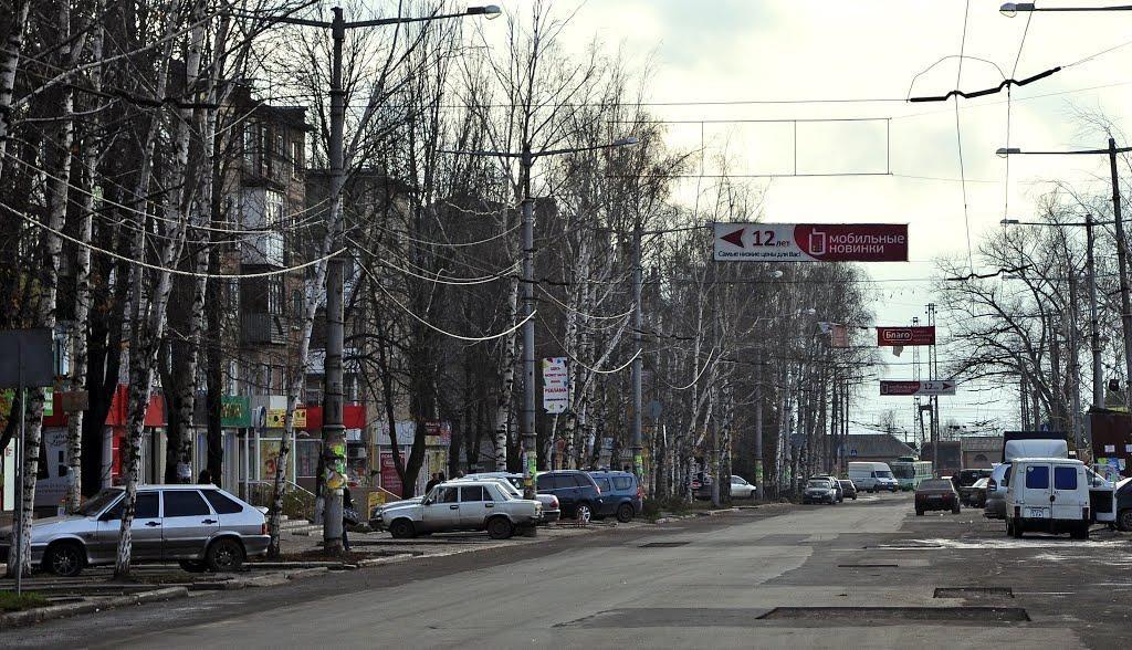 """Казанский показал, как живет оккупированный Харцызск, """"переставший кормить Украину"""""""