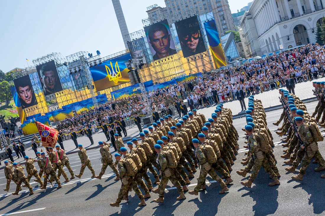киев, парад, всу, оос, белоус