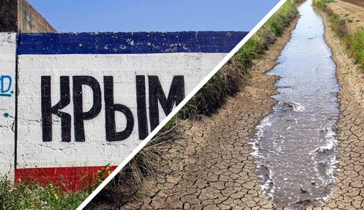 """Житель Крыма Украине: """"Не давайте и ведра воды на оккупированный полуостров"""", - кадры"""
