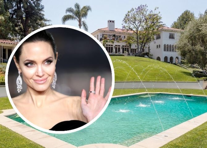 Анджелина Джоли показала свой шикарный дом в Калифорнии за 25 миллионов долларов