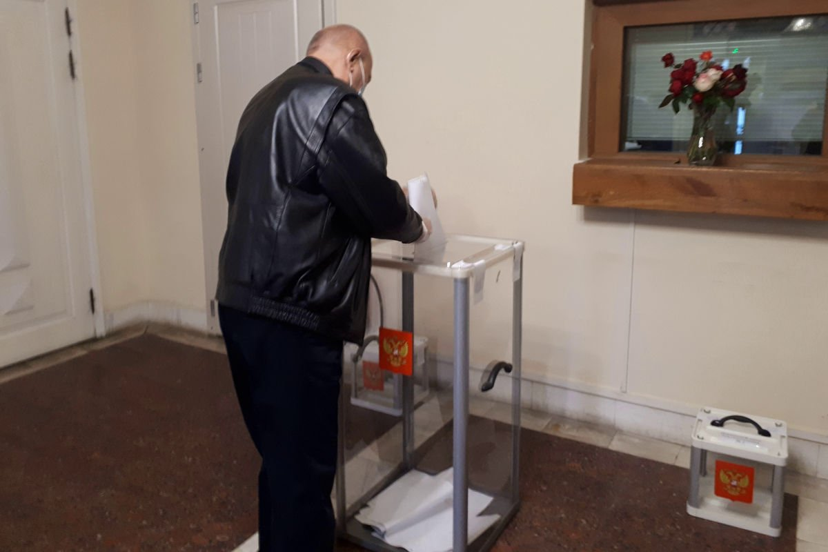 РФ открыла избирательные участки в 4 городах неоккупированной Украины - во Львове голосование провалилось