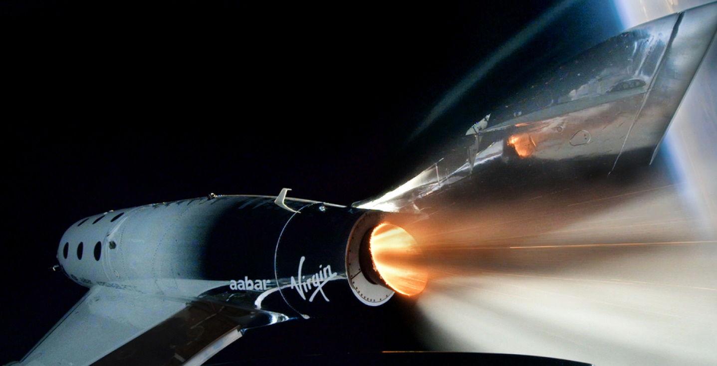 Ракетоплан VSS Unity совершил удачный полет в космос и вернулся на Землю