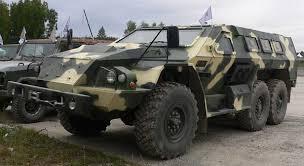 Батальон «Азов» получил два новых бронированных автомобиля