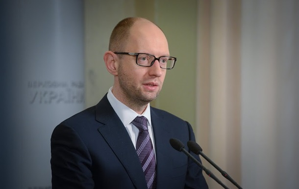 Журналисты подставили Яценюка, когда он тренировал речь о российской агрессии