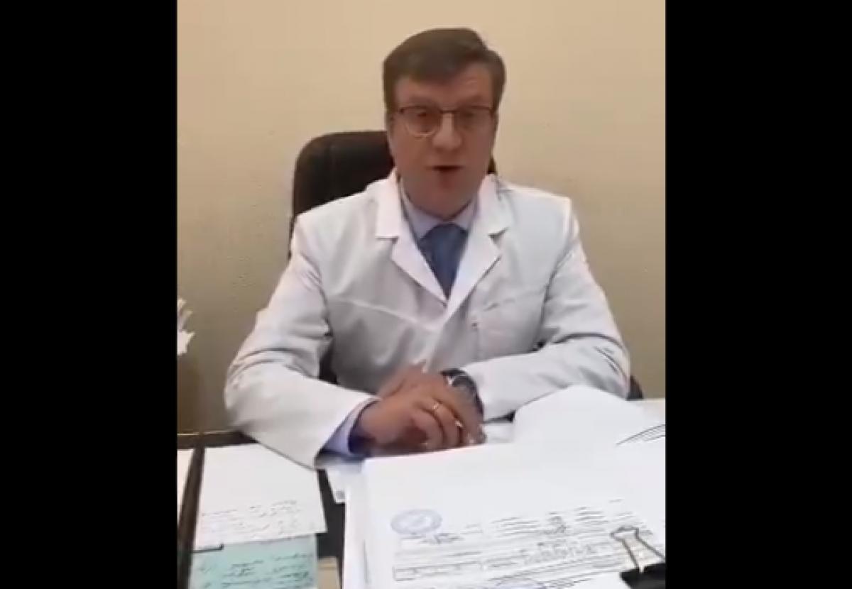 Главврач больницы рассказал, что произошло с Навальным в самолете