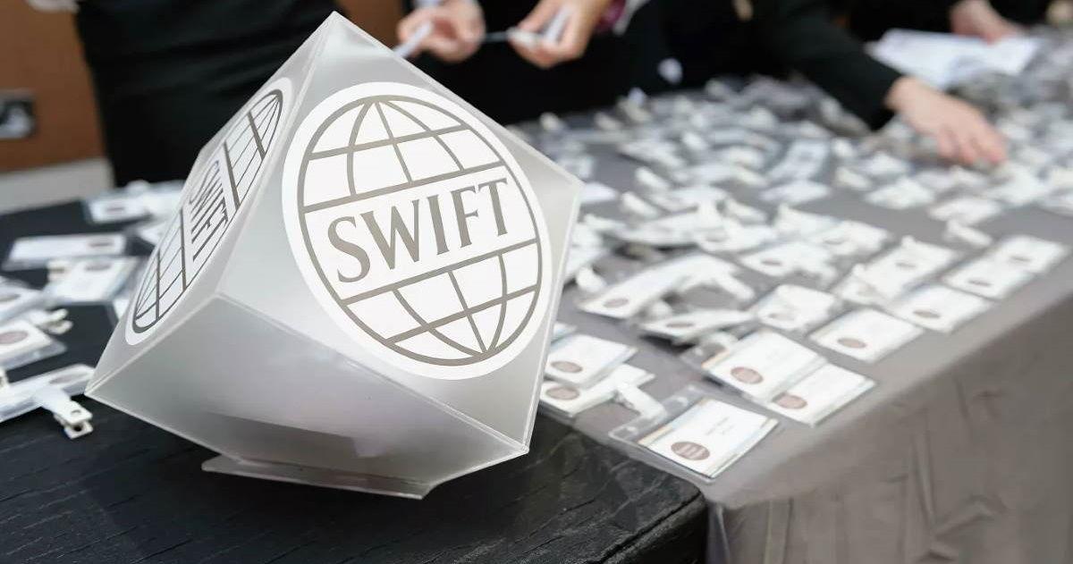 Отключение РФ от системы SWIFT:  проект резолюции появился в Европарламенте