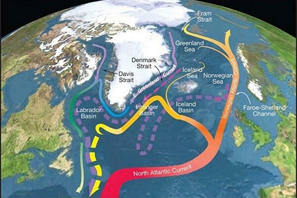 Гольфстрим теряет стабильность, движение масс воды в Атлантике близко к коллапсу - исследование