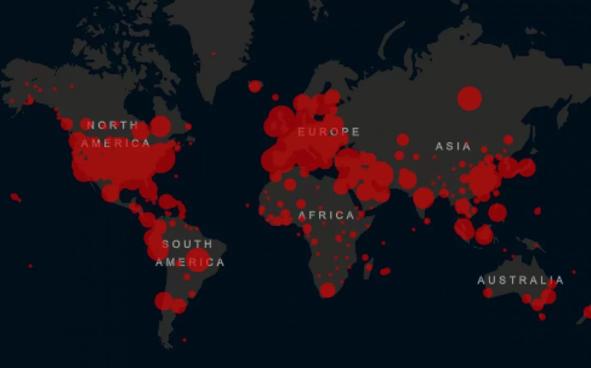 Количество зараженных коронавирусом COVID-19 в мире начало существенно падать, детали