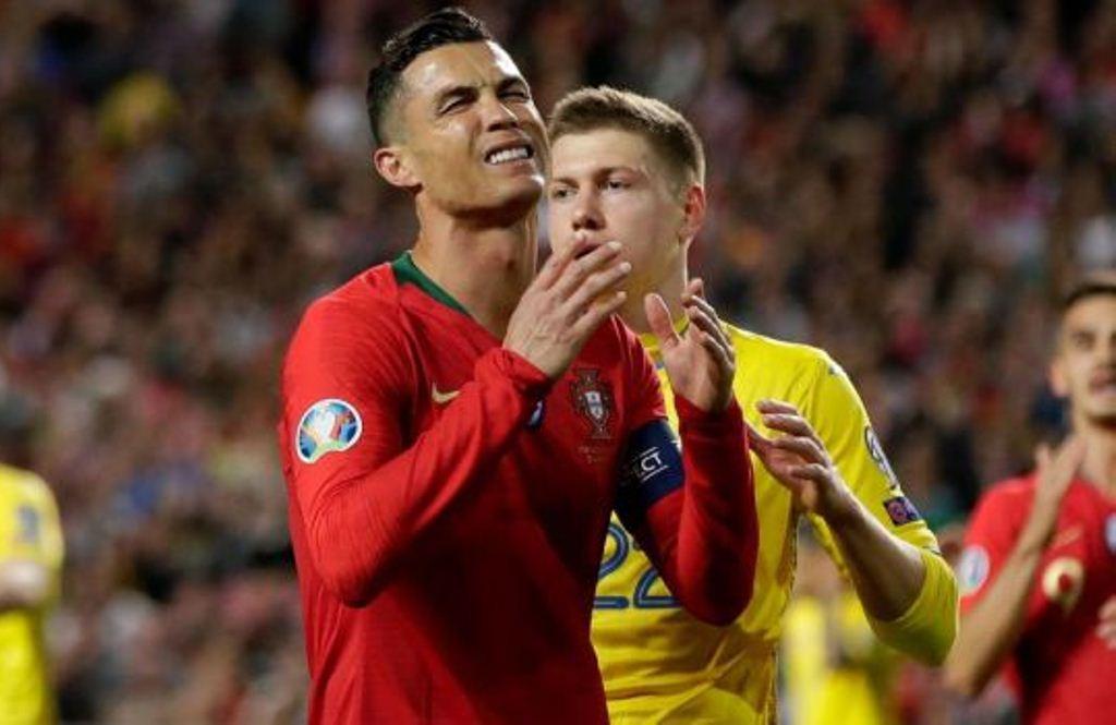 Украина, спорт, футбол, евро-2020, португалия, победа, матч, роналду