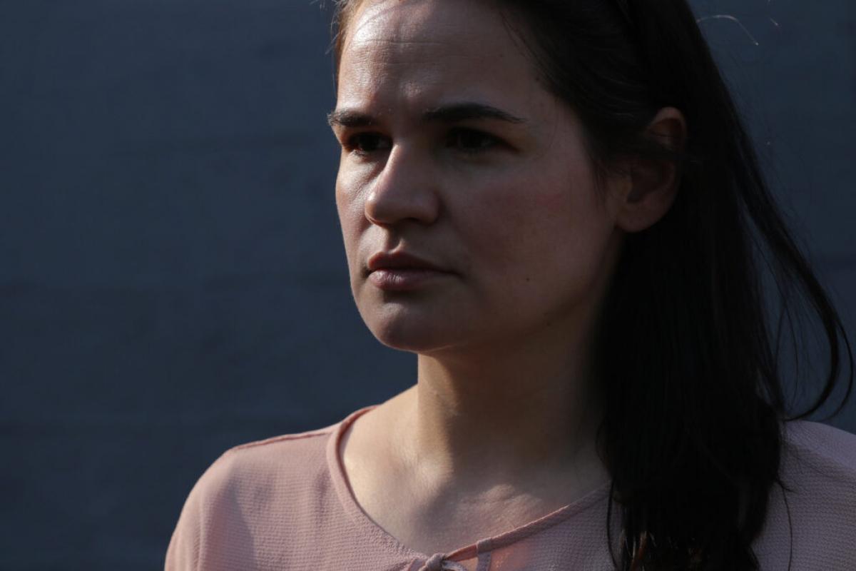 Главная соперница Лукашенко на выборах Тихановская отказалась отвечать про Крым и Донбасс