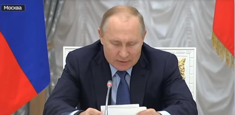 """Путин провел заседание по русскому языку: что сказал хозяин Кремля о """"великом и могучем"""""""