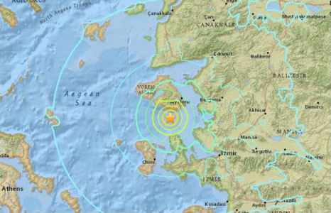 Мощные подземные толчки магнитудой 6,2 потрясли Турцию (кадры)