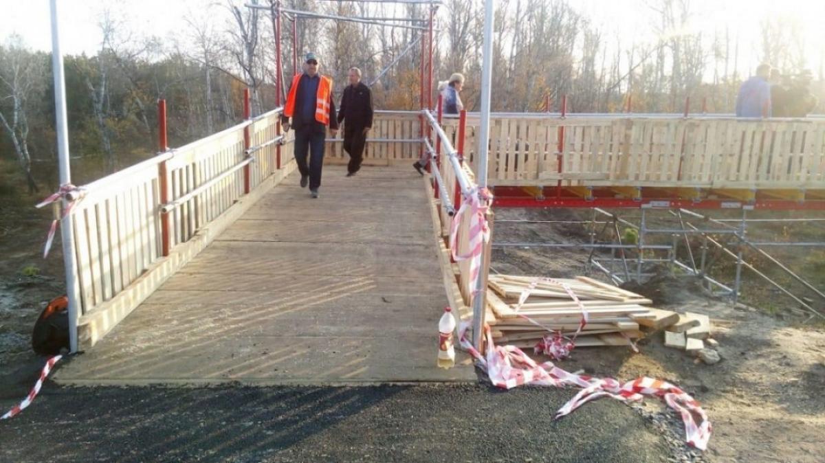 Что происходит в Станице Луганской возле отремонтированного моста