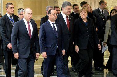 """Лидеры """"нормандской четверки"""" заверили Минскую декларацию на словах"""