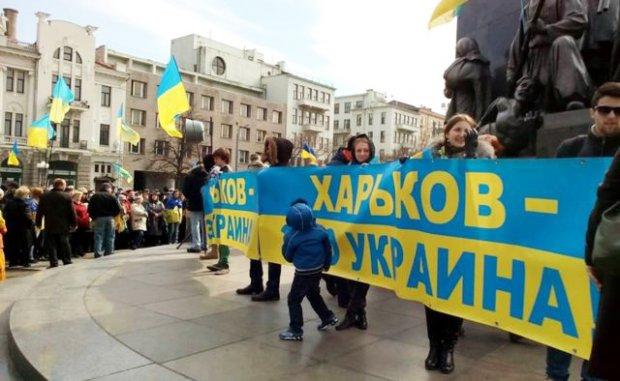 Украина, Харьков, АТО, Палатка, Активисты, Снос