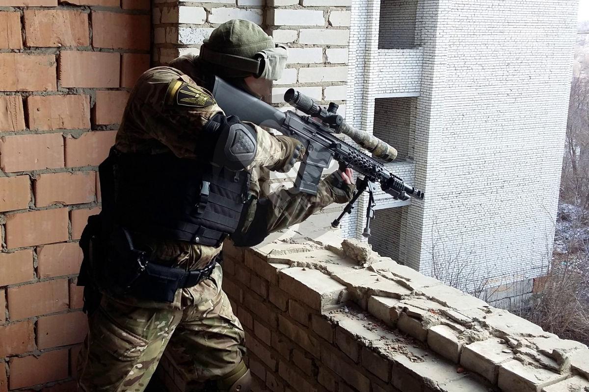 Работа снайпера ВСУ на фронте попала на видео - использовал украинскую винтовку Z-10