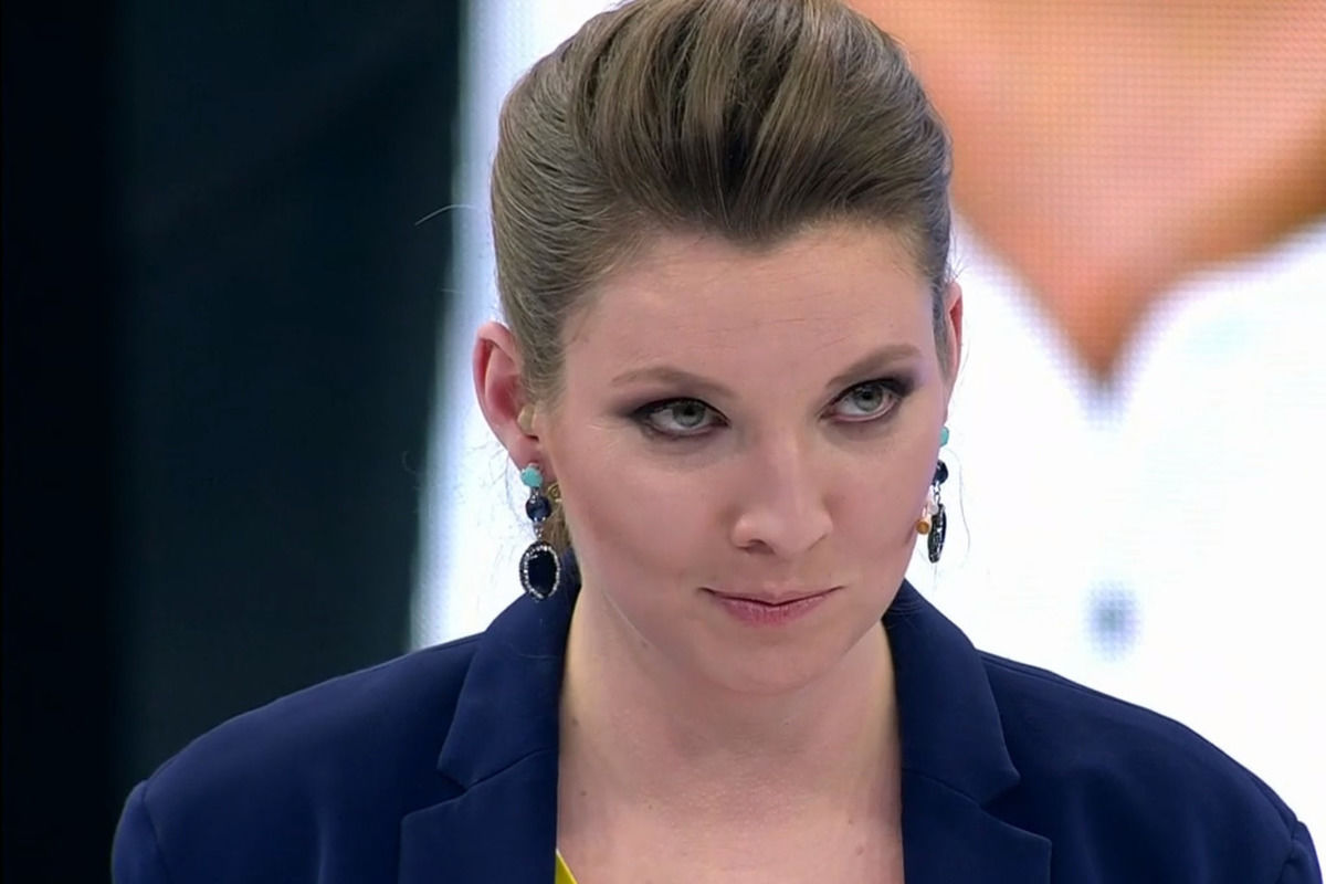 """Пропагандистка Скабеева на всю страну """"сказала"""" о победе Украины над Россией"""