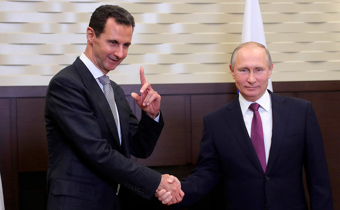 Асад пообещал Путину не повторить судьбу Януковича