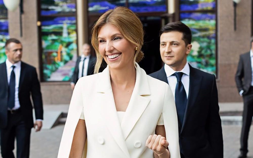 США, политика, Украина, Зеленский, Елена, письмо, Владимир, первая леди