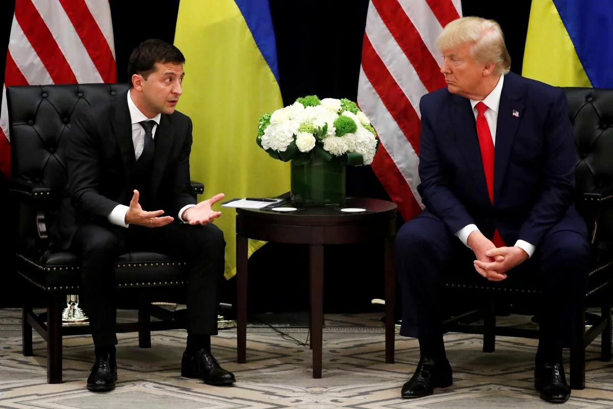 трамп, сша, украина, скандал, импичмент, байден, политика