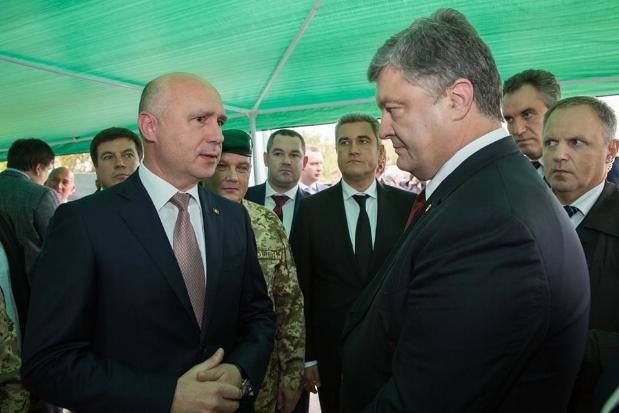 Петр Порошенко заявил, что готов помочь в восстановлении территориальной целостности Молдовы