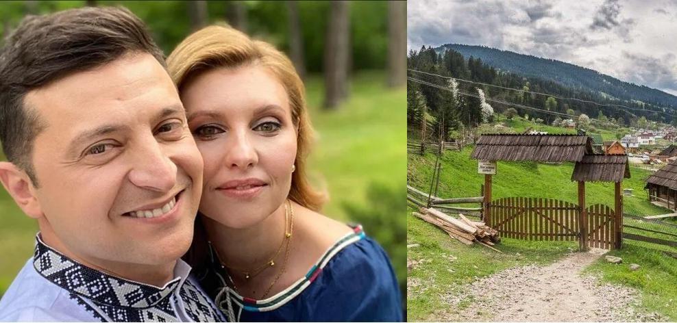 Зеленский с женой перед Пасхой тайно приехал на Запад Украины: появились фото с местными жителями