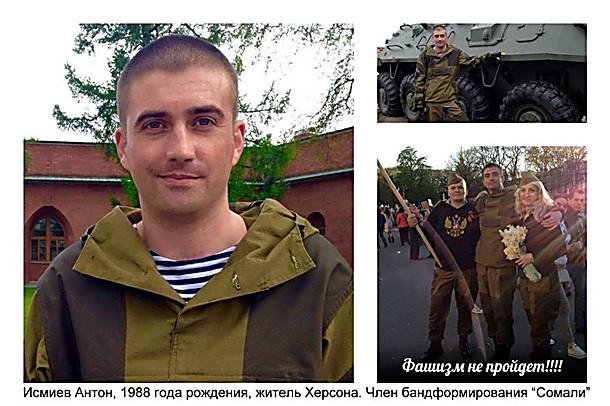 Донбасс, ДНР, Боевики, СБУ, Альфа, досье, Антон Исмиев
