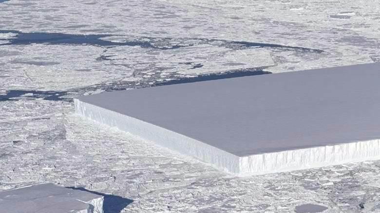 Обнаружен айсберг аномальной формы: ученые всего мира потрясены увиденным, а в Сети не утихают споры - кадры