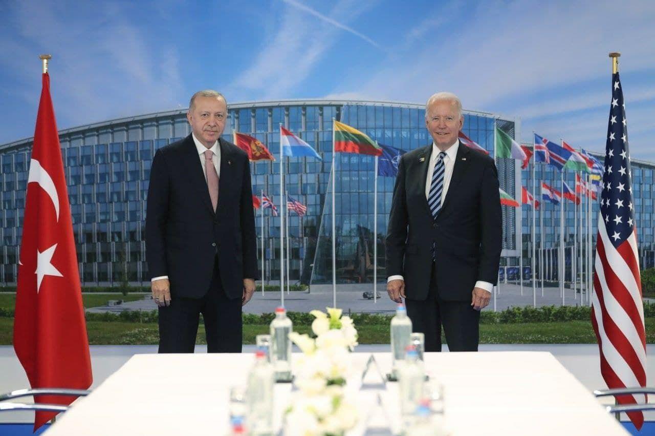 Эрдоган рассказал, о чем договорился с Байденом после переговоров тет-а-тет
