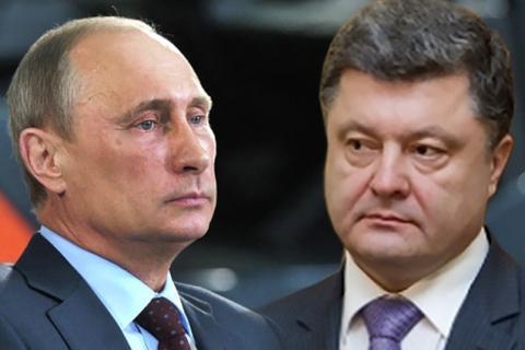 Порошенко и Путин сегодня обсудят меры по урегулированию конфликта в Донбассе
