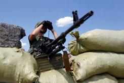 «ИС»: за сутки были обстреляны шесть блокпостов сил АТО