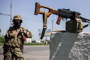 Десантников вблизи Дьяково обстреливают с двух сторон - штаб АТО