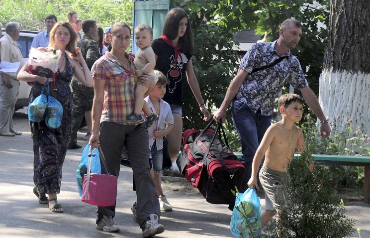 Где и как живут беженцы с юго-востока