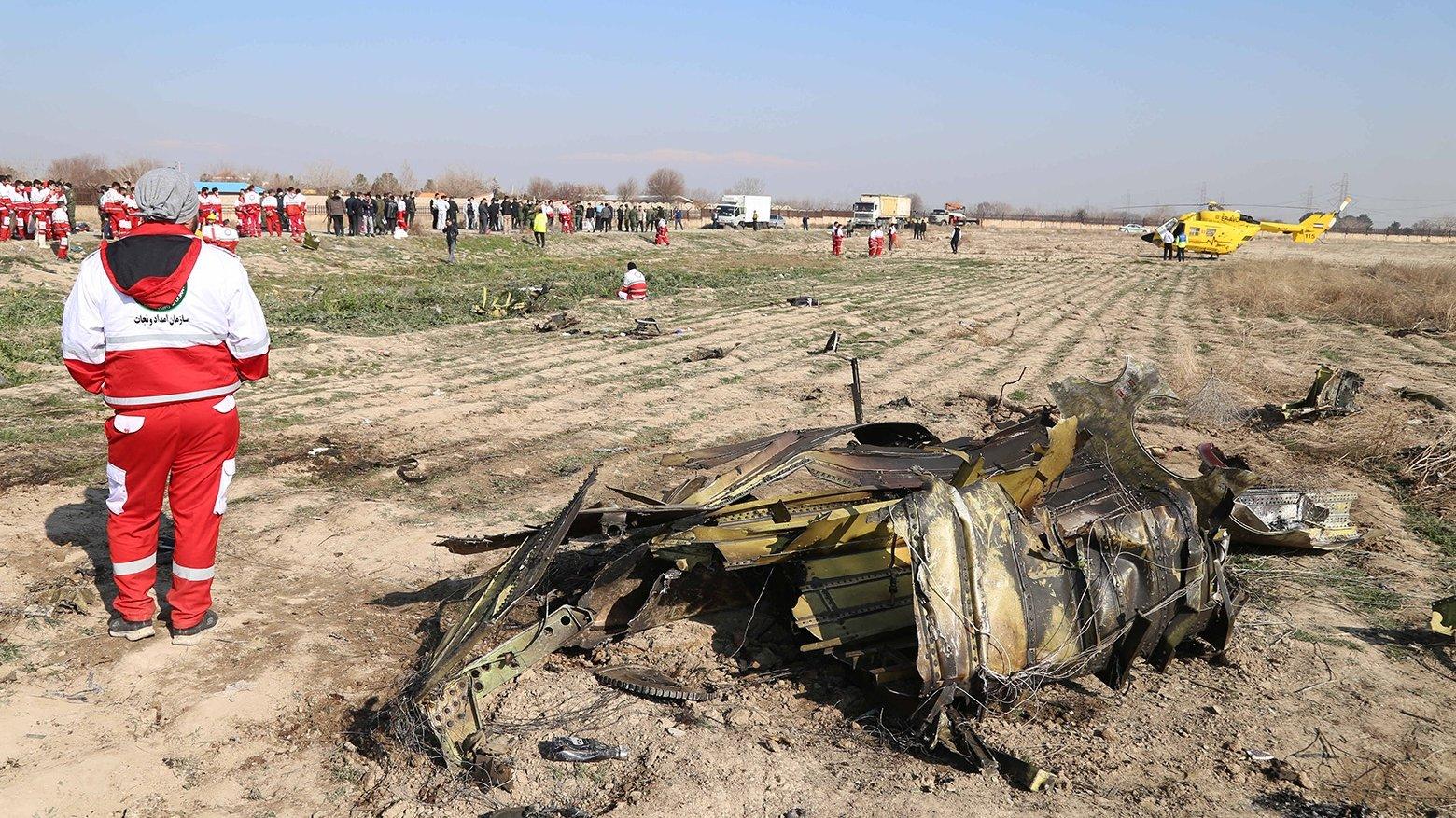 Иран опубликовал первый отчет о сбитом самолете МАУ Boeing 737